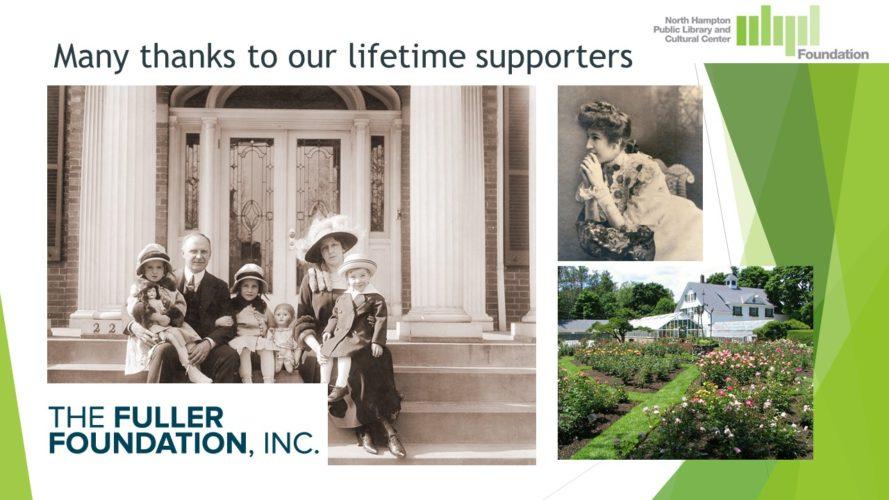 Thank You, Fuller Foundation!