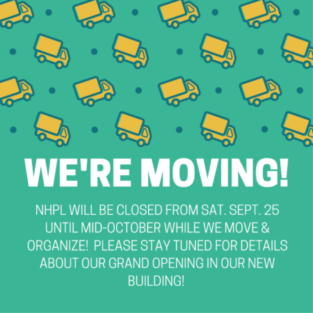 NHPL is MOVING!